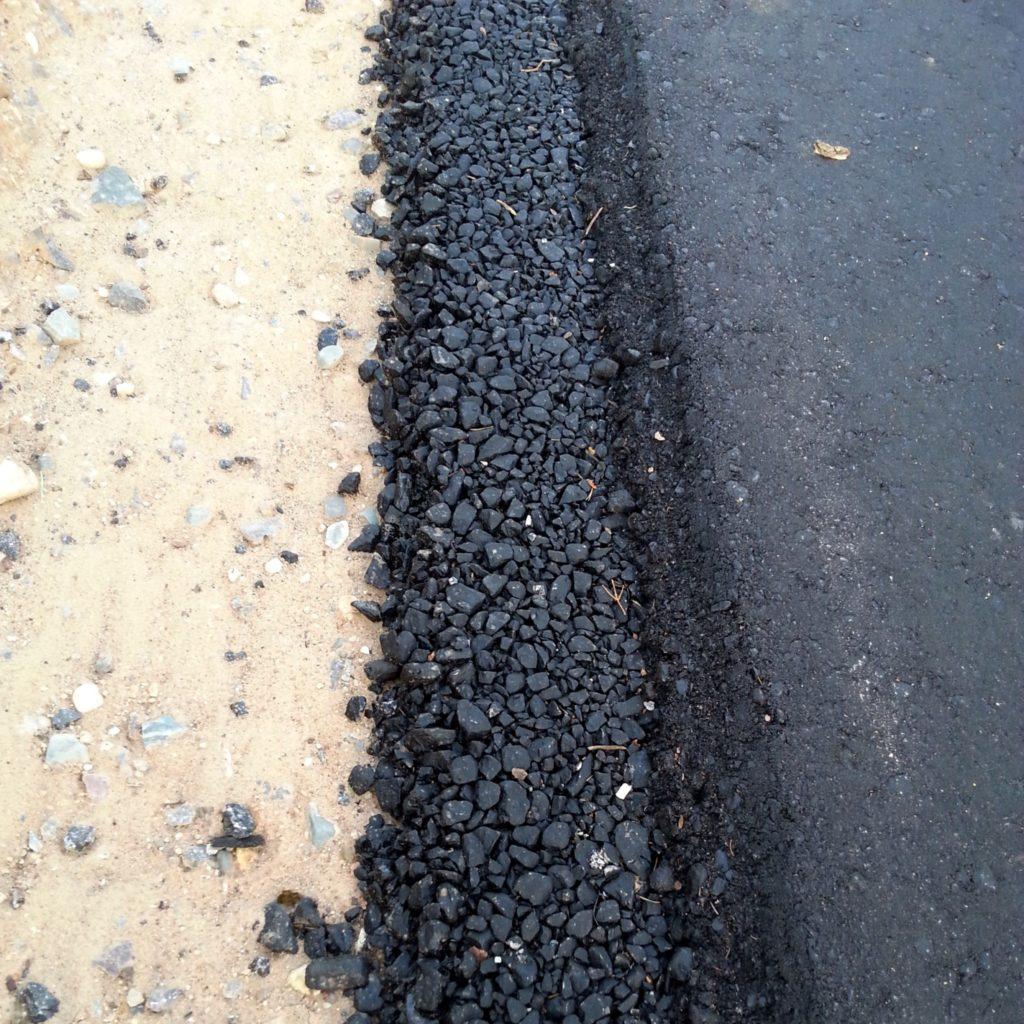Асфальтобетон при строительстве дорог