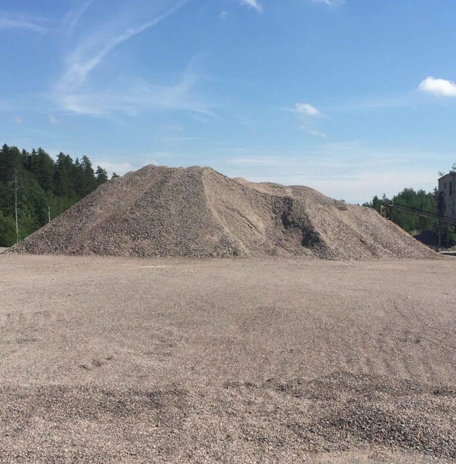 Песчано щебеночная смесь база