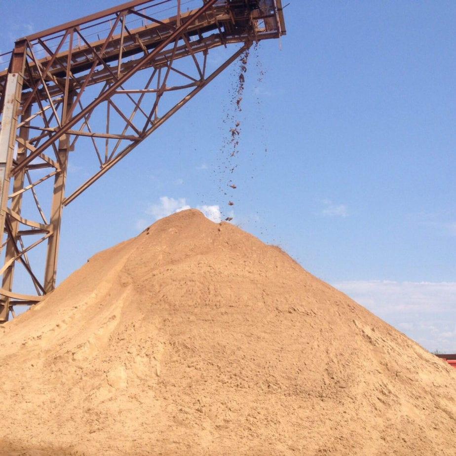 Строительный песок картинка